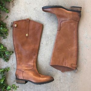 Sam Edelman Penny2 Wide Calf Leather Riding Boots